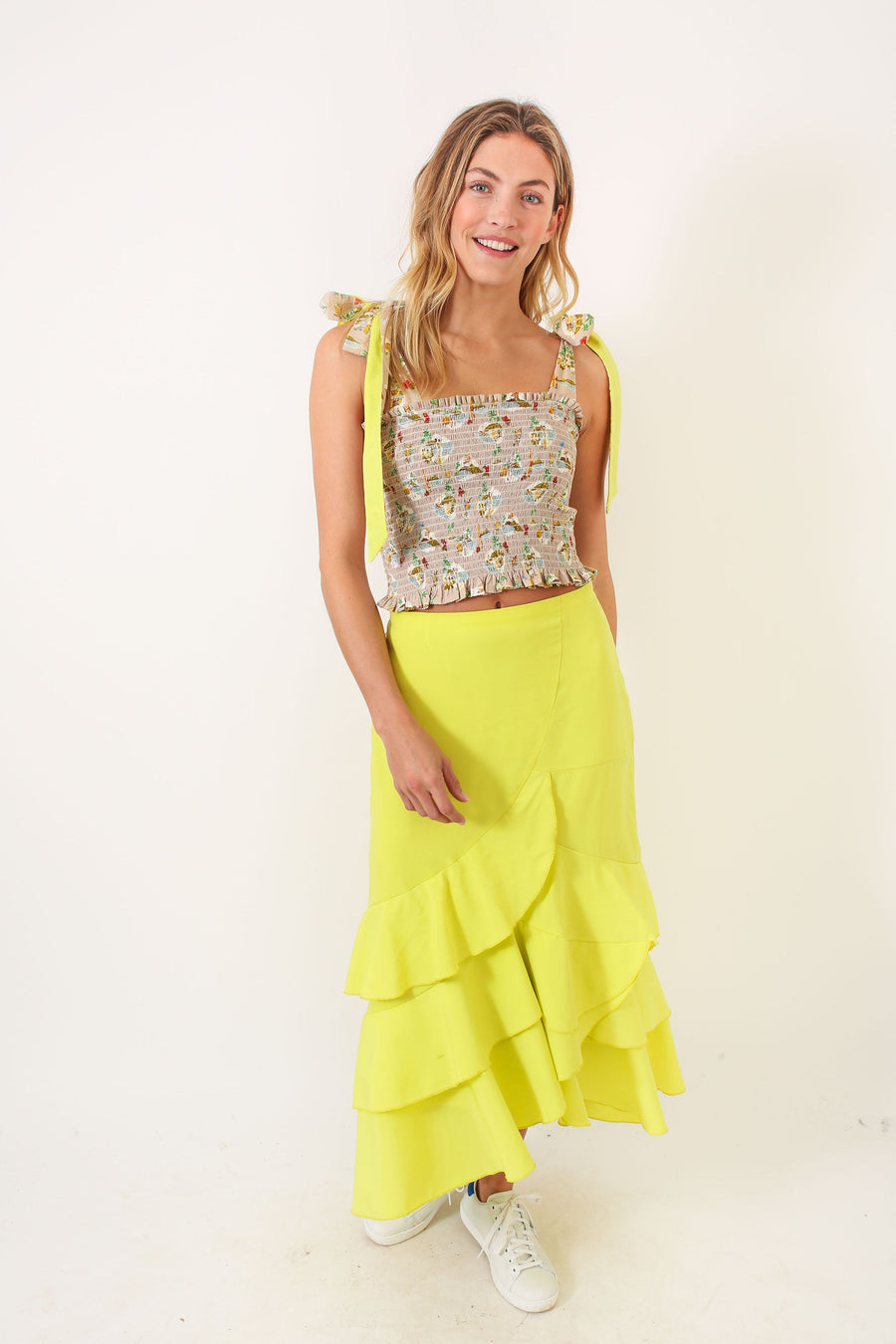 GRETA SKIRT CITRON *LIMITED*EDITION*