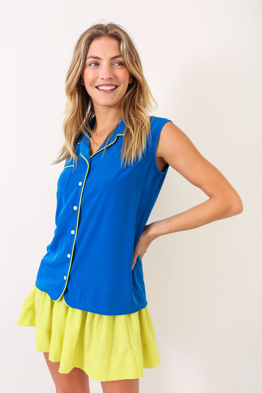 MADDIE TOP PACIFIC BLUE *LIMITED*EDITION*