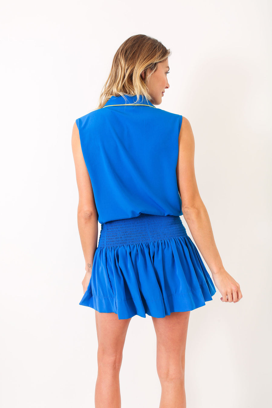 ERICA SKIRT PACIFIC BLUE