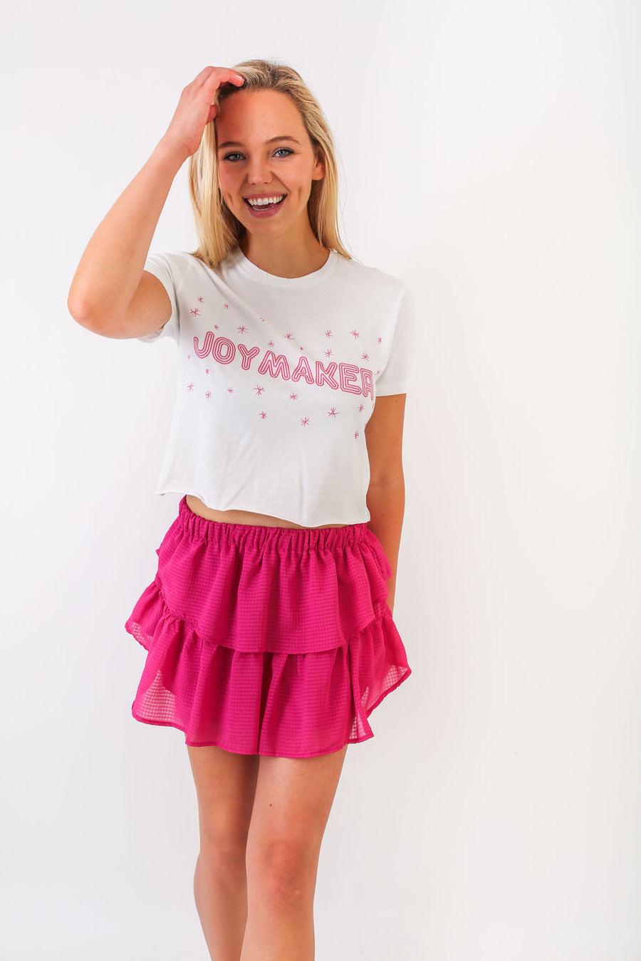 CROP TOP PINK JOYMAKER