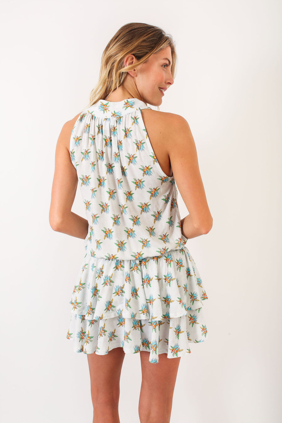 HALEY DRESS PARROT *LIMITED*EDITION*