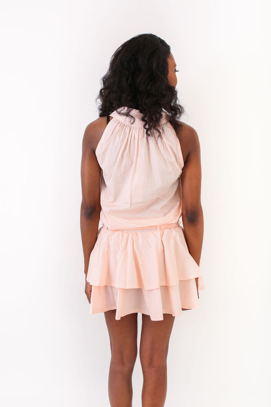 HALEY DRESS ORANGE SHERBERT