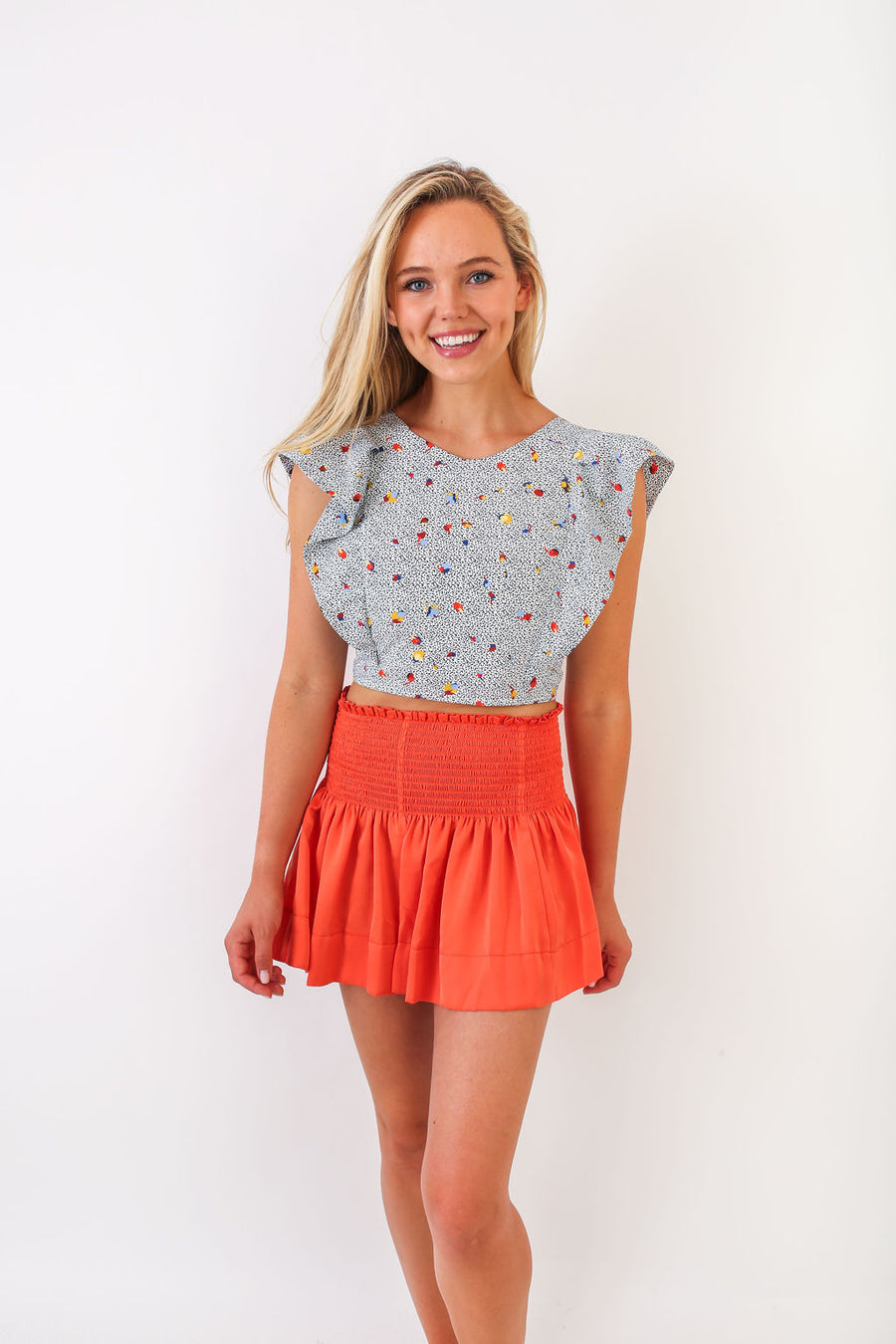 CECILIA TOP MEMPHIS FLOWER