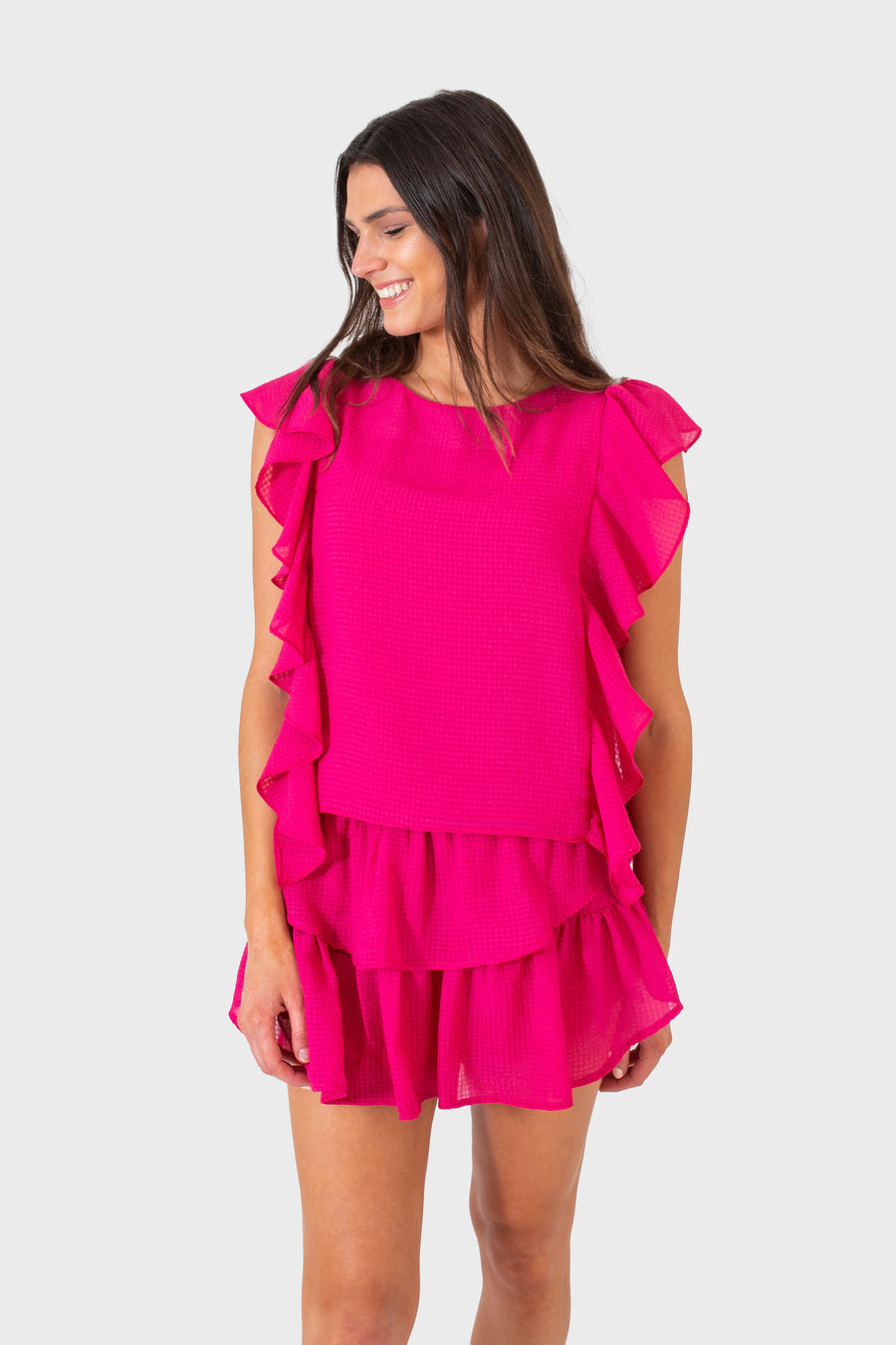 CARA TOP PINK CHIFFON *LIMITED*EDITION*