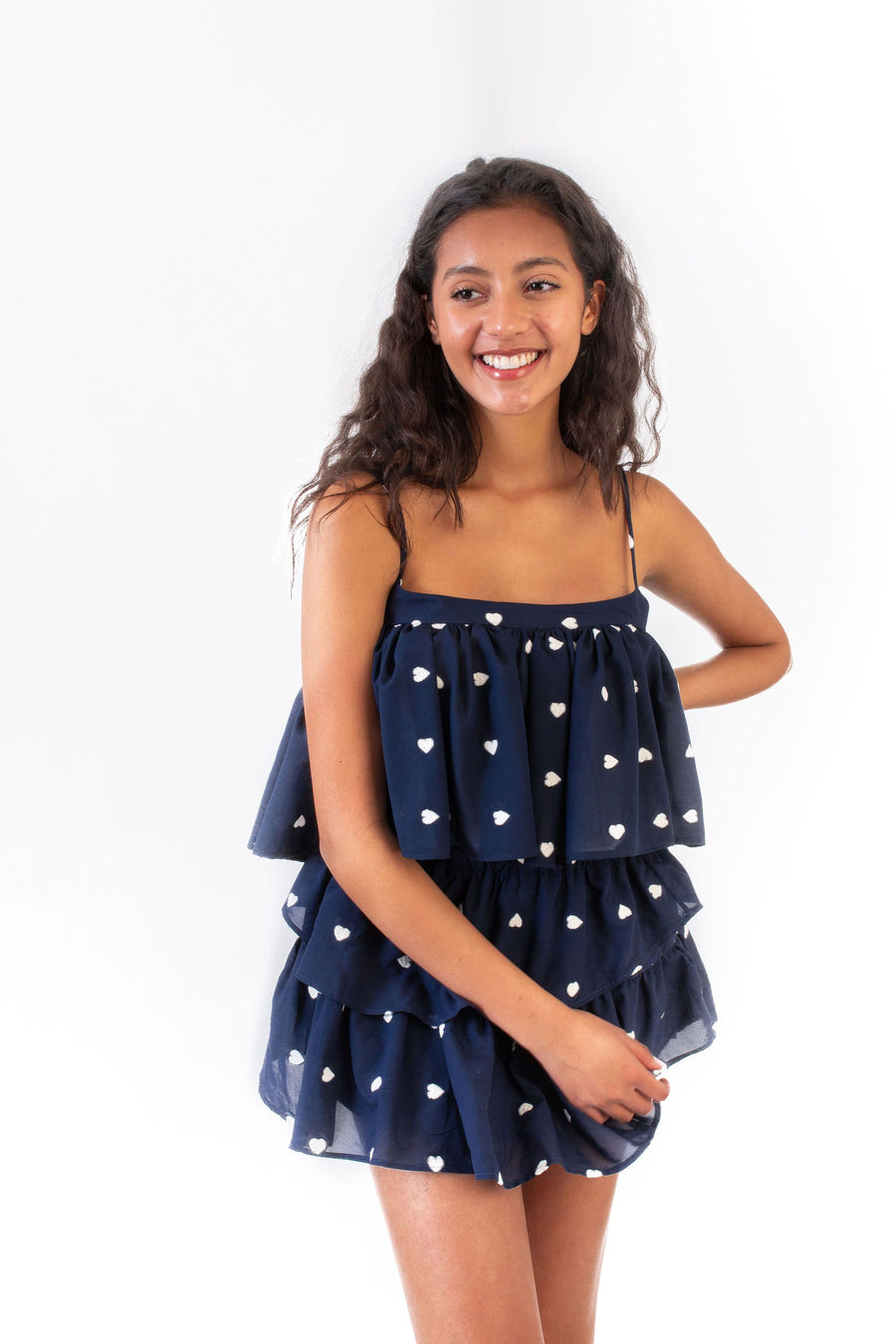 IVY SKIRT NAVY HEARTS *LIMITED*EDITION*