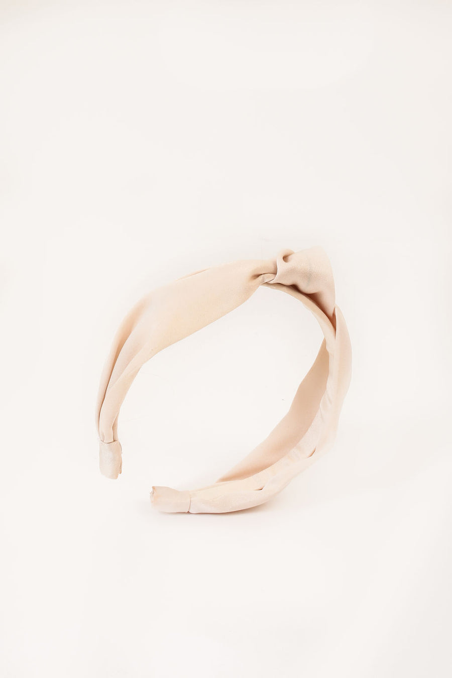STEPHANIE HEADBAND CREAM POLYSATIN *LIMITED*EDITION*