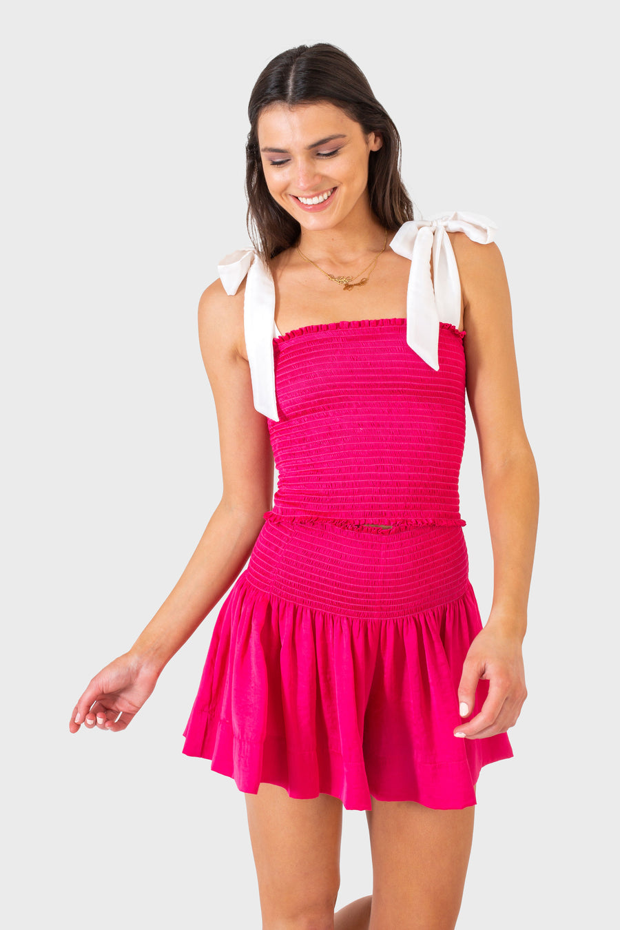 ERICA SKIRT HOT PINK *LIMITED*EDITION*