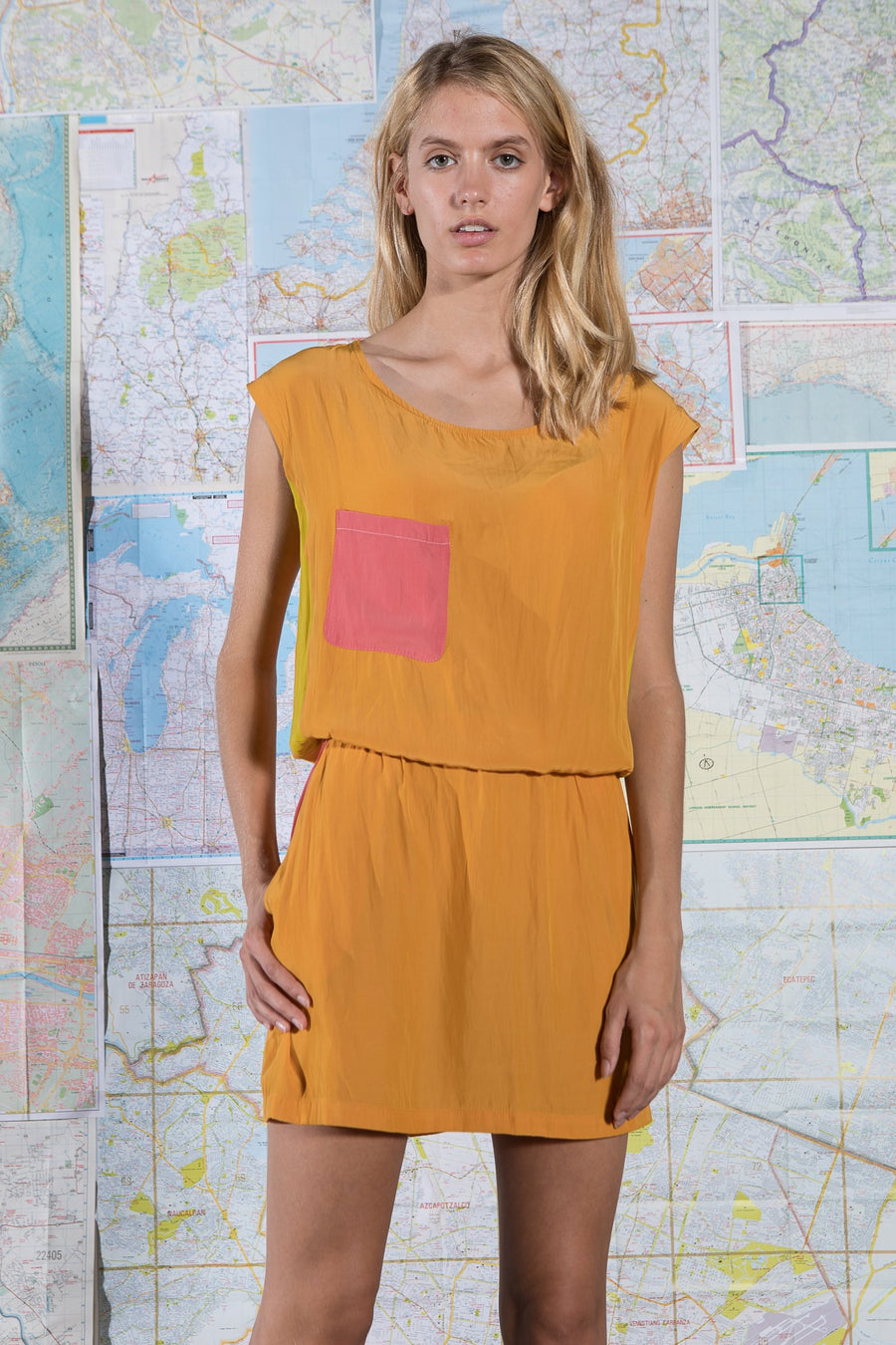 KINGSLEY DRESS CITRUS