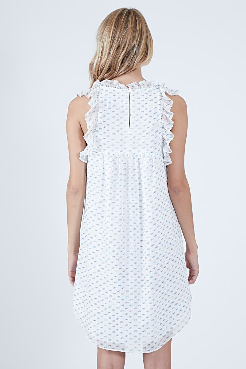 EMMA DRESS HEY PRINT