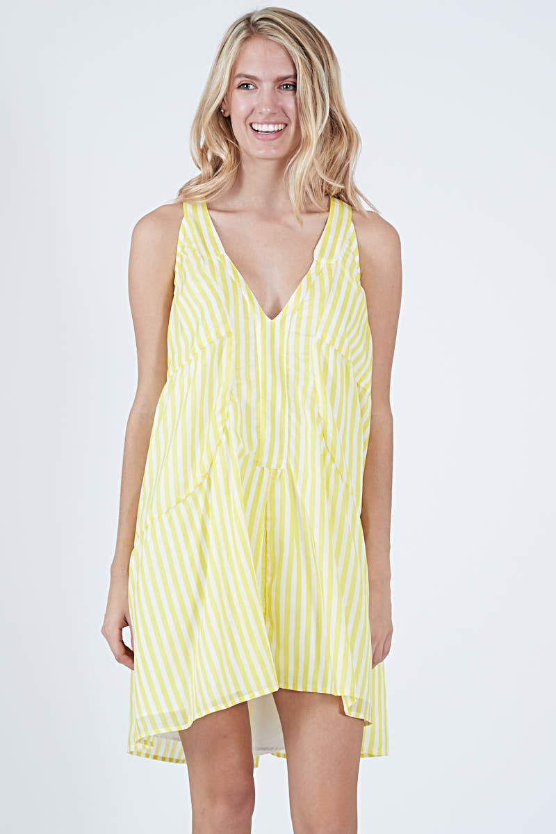 JINX DRESS SUN STRIPE