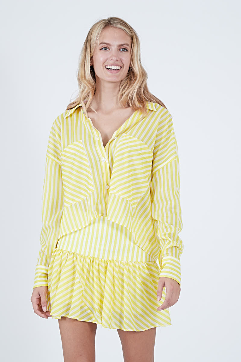 ELIZA TOP SUN STRIPE