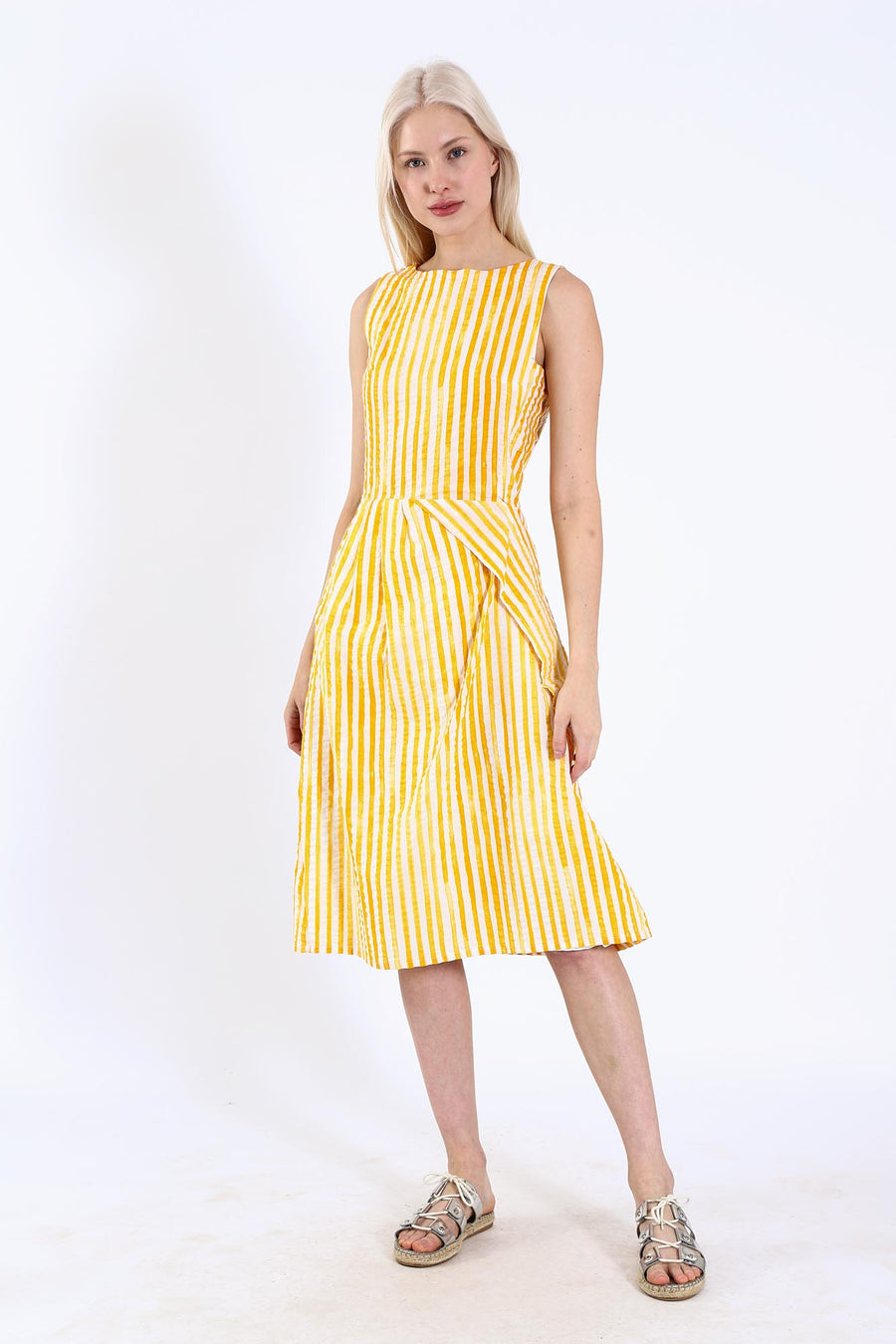 MARIELLE DRESS SUNNY STRIPE