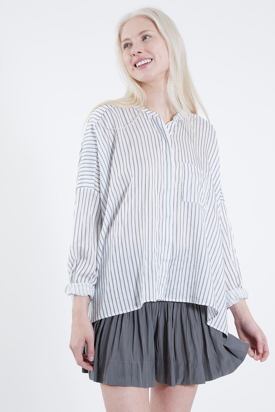 LEONARDO TOP SUIT STRIPE
