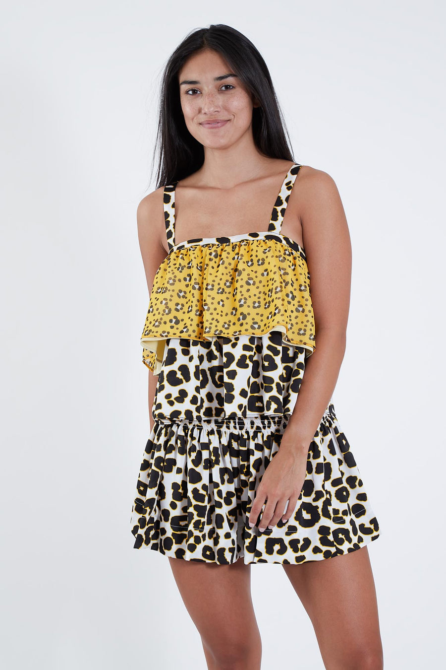GOLDIE TOP LEOPARD