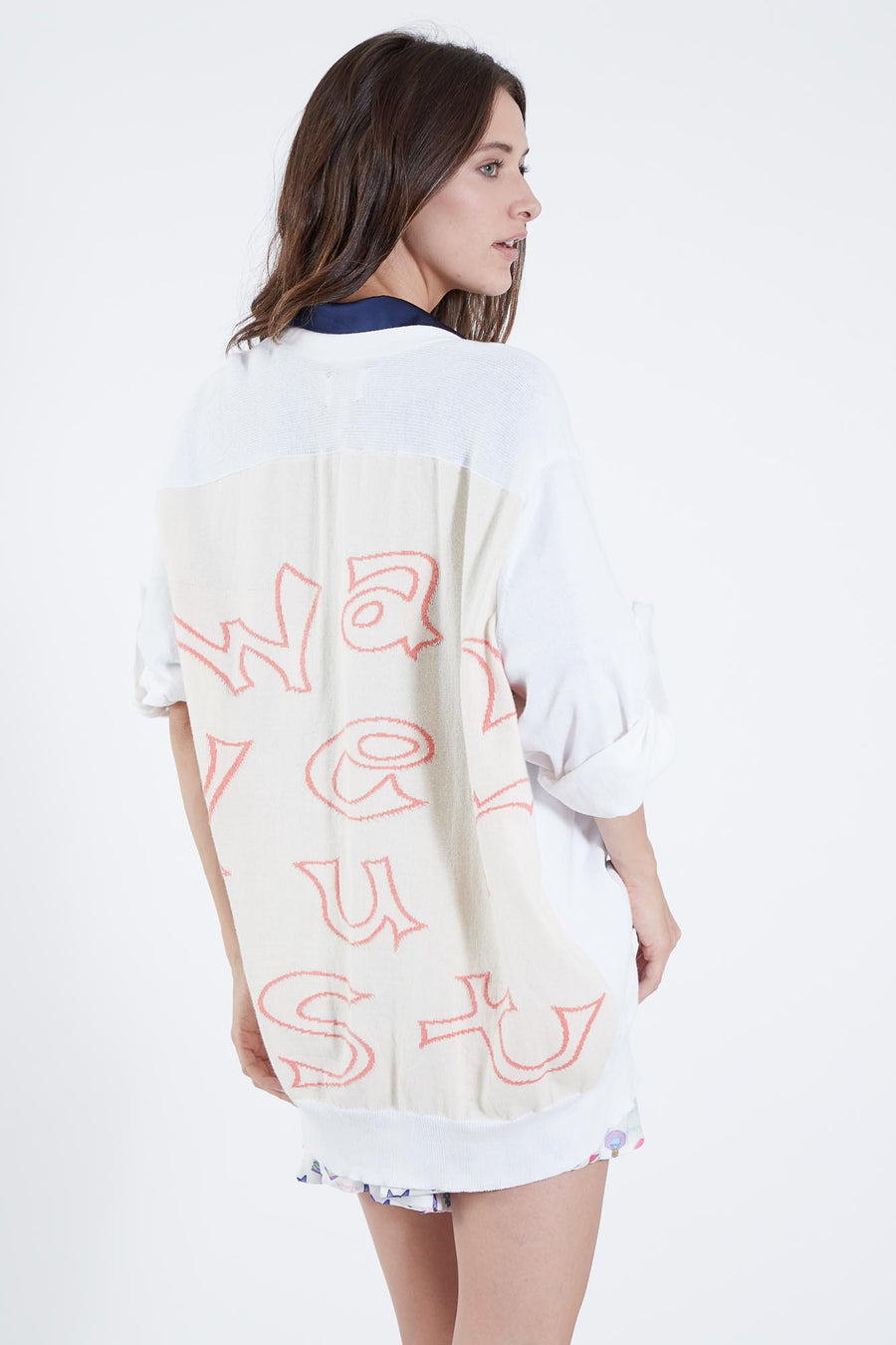 LONGFELLOW SWEATER WHITE WANDERLUST