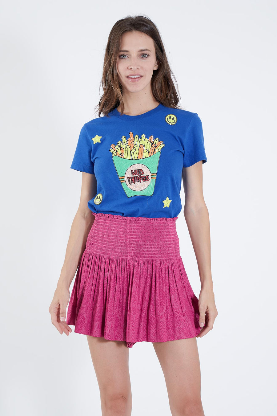 BLUE WILD FRIES LUCY T-SHIRT