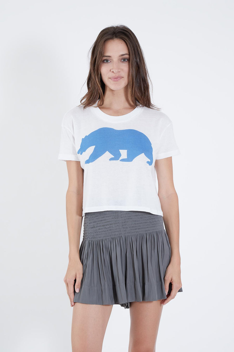 BEAR TEE CROP TOP