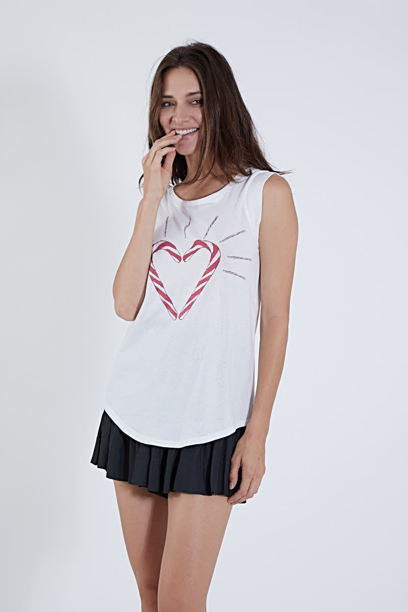 MUCH LOVE KOCH MARIE TEE CANDY CANE HEART *LIMITED*EDITION*