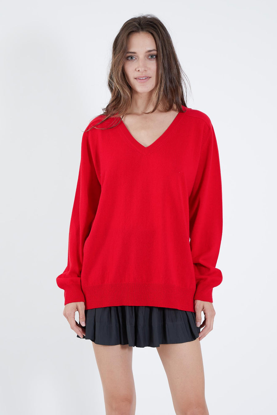 PETE SWEATER RED