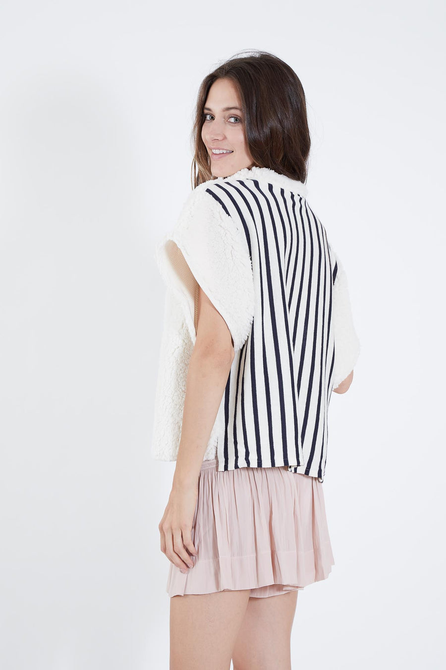 AUDREY TOP SHEEP & STRIPE
