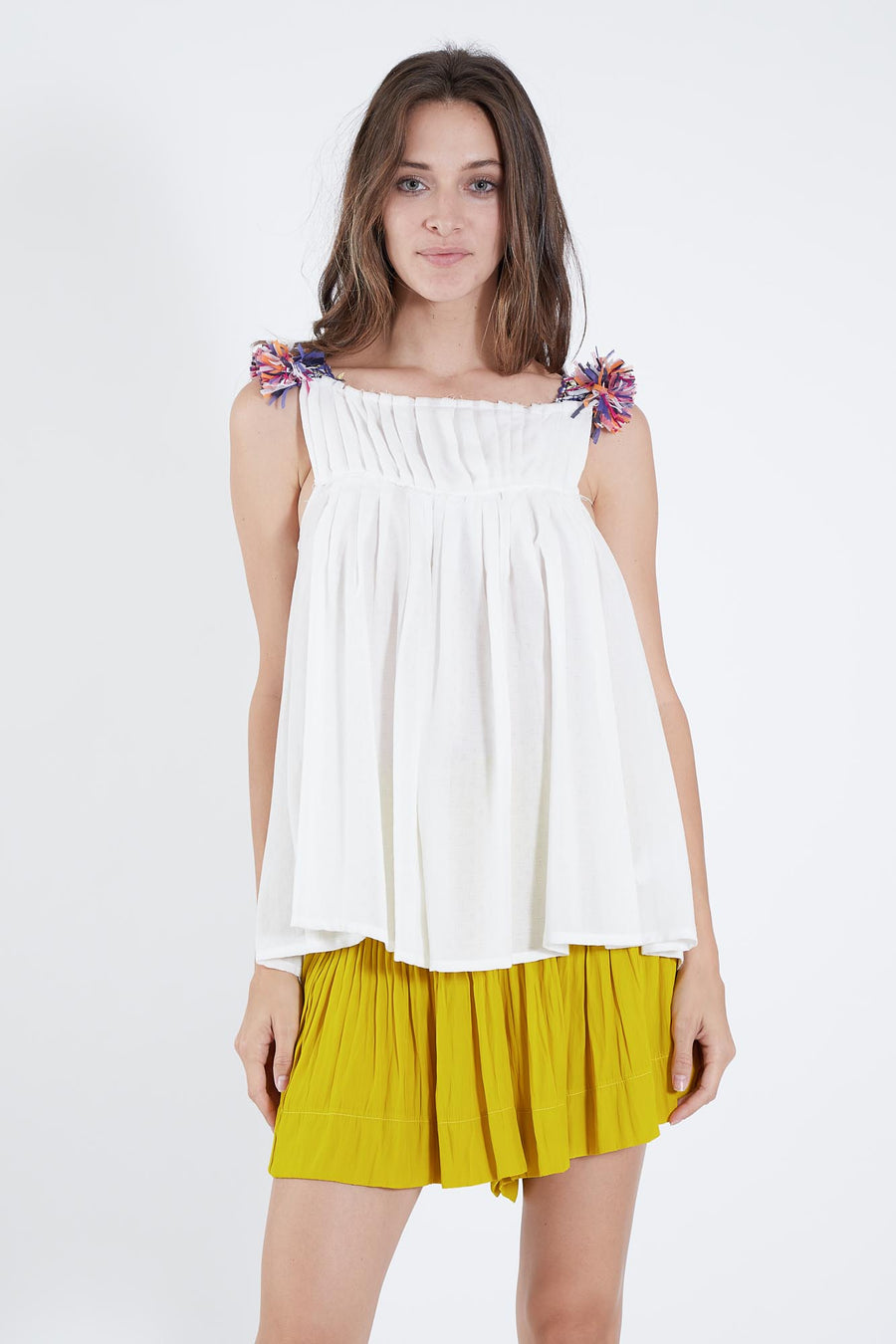 HORUS TOP WHITE SHIRTING