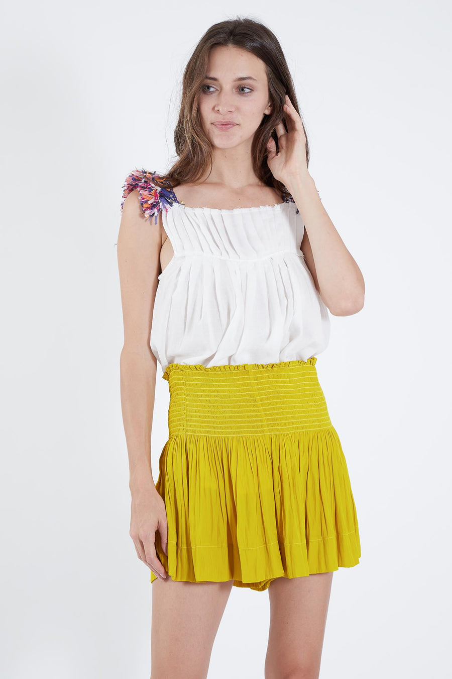 ERICA SKIRT LEMON ZEST