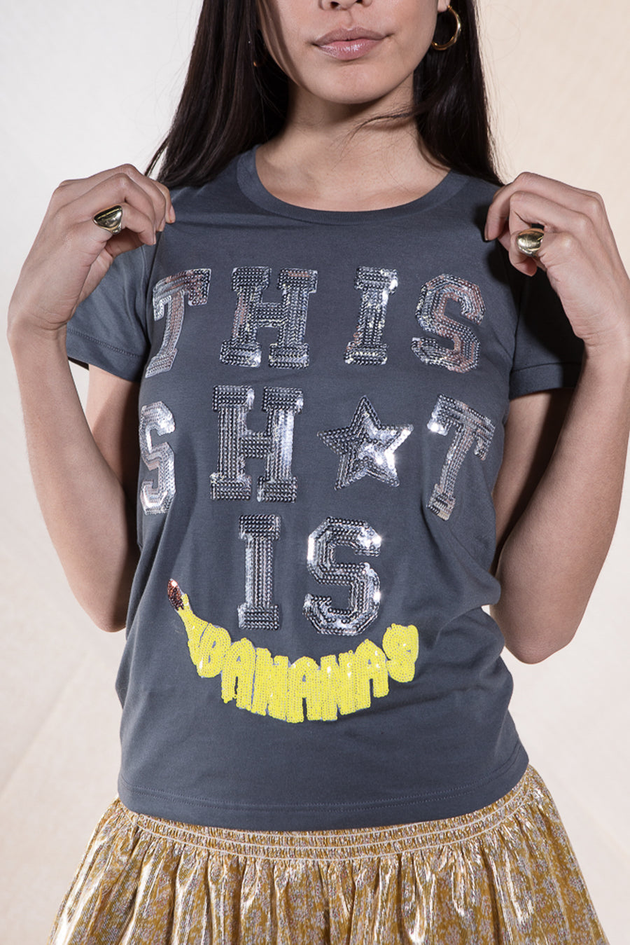 LUCY T-SHIRT BANANAS