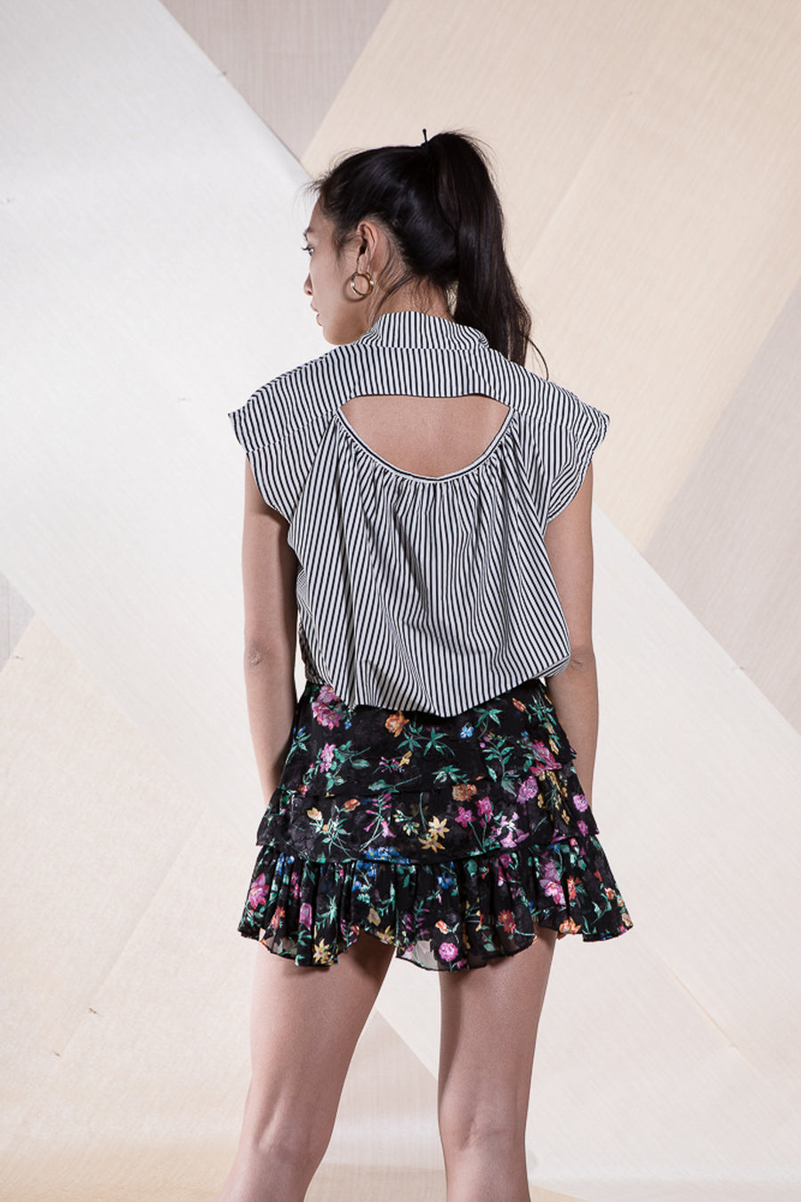 SOPHIE SKIRT MIDNIGHT FLOWER