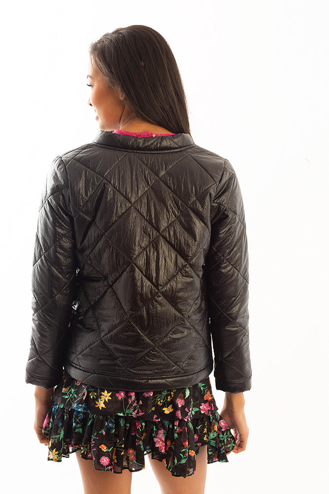 BOB JACKET BLACK QUILTING