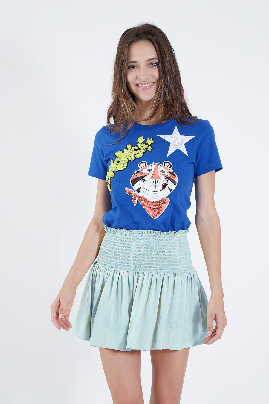 ERICA SKIRT MOON BLUE