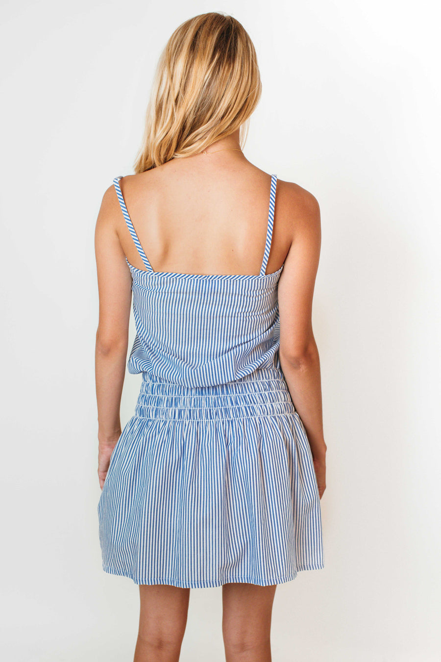 OLIVIA DRESS OCEAN STRIPE *LIMITED*EDITION*