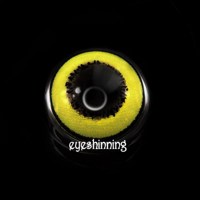 Eyeshinning Magic Yellow Colored Contact Lenses