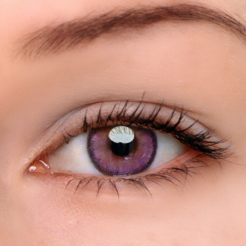 Eyeshinning Egypt Purple Colored Contact Lenses