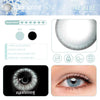 Eyeshinning Ice Blue Colored Contact Lenses