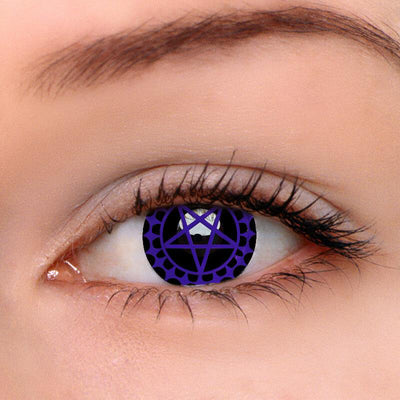 Eyeshinning Ciel's Contract Purple Colored Contact Lenses