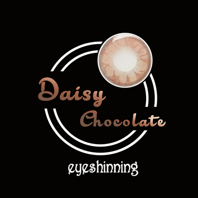 Eyeshinning Daisy Chocolate Colored Contact Lenses
