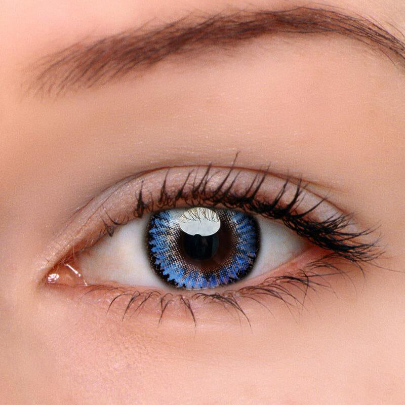 Eyeshinning Dodo Blue Colored Contact Lenses