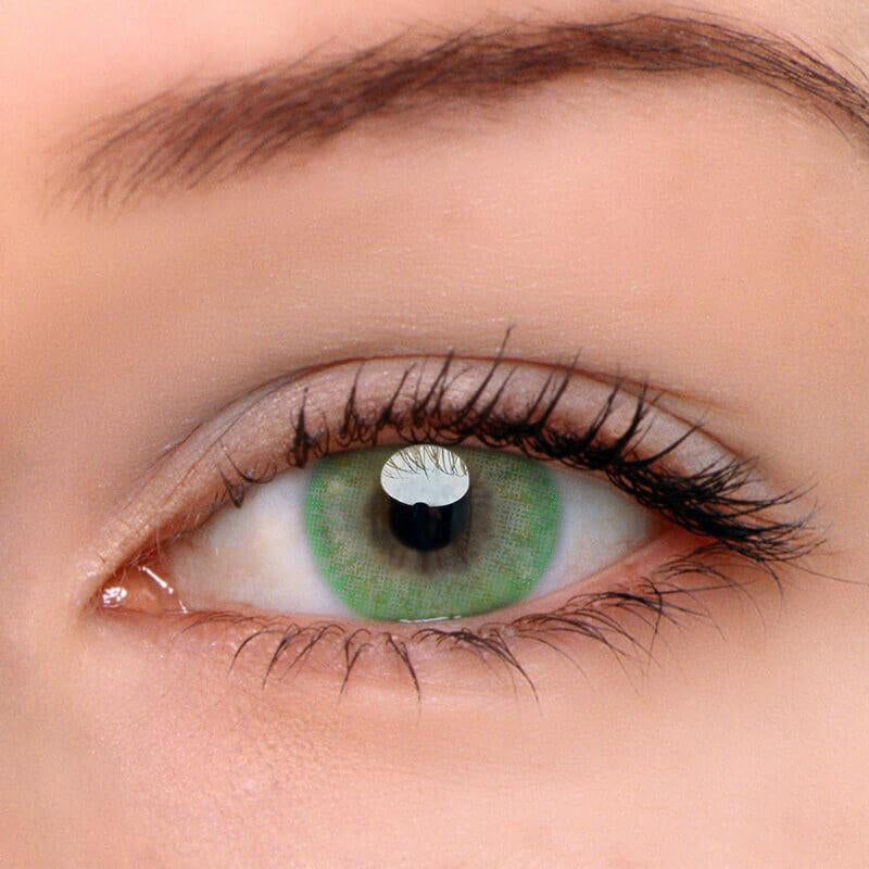 Eyeshinning Donut Green Colored Contact Lenses