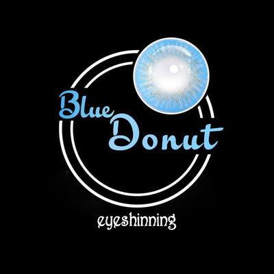 Eyeshinning Donut Blue Colored Contact Lenses