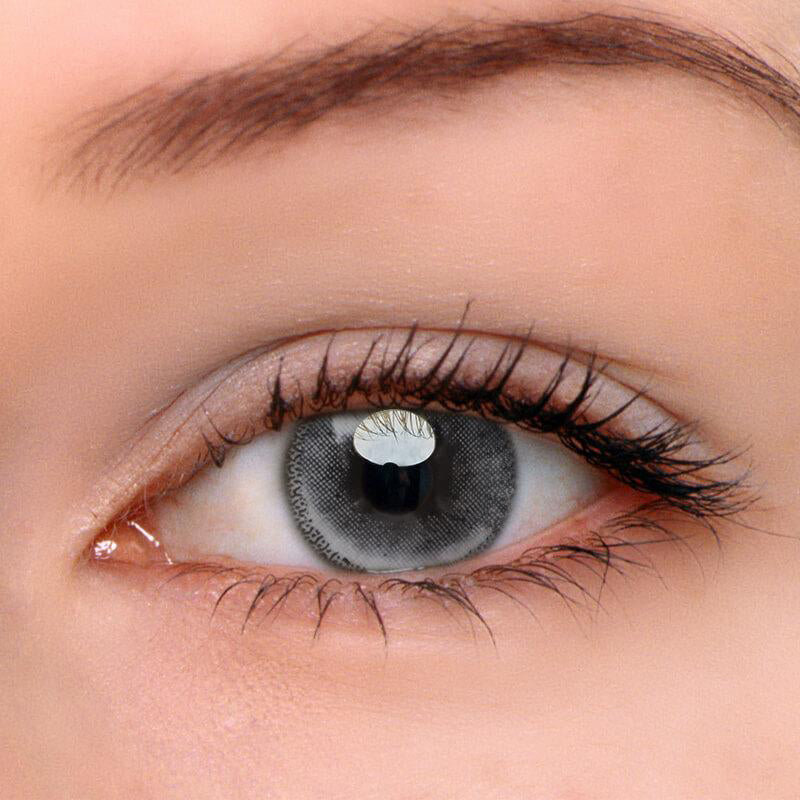 Eyeshinning Edge Grey Colored Contact Lenses