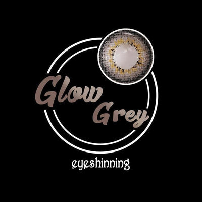 Eyeshinning Glow Grey Colored Contact Lenses
