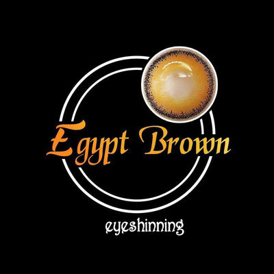 Eyeshinning Egypt Brown Colored Contact Lenses
