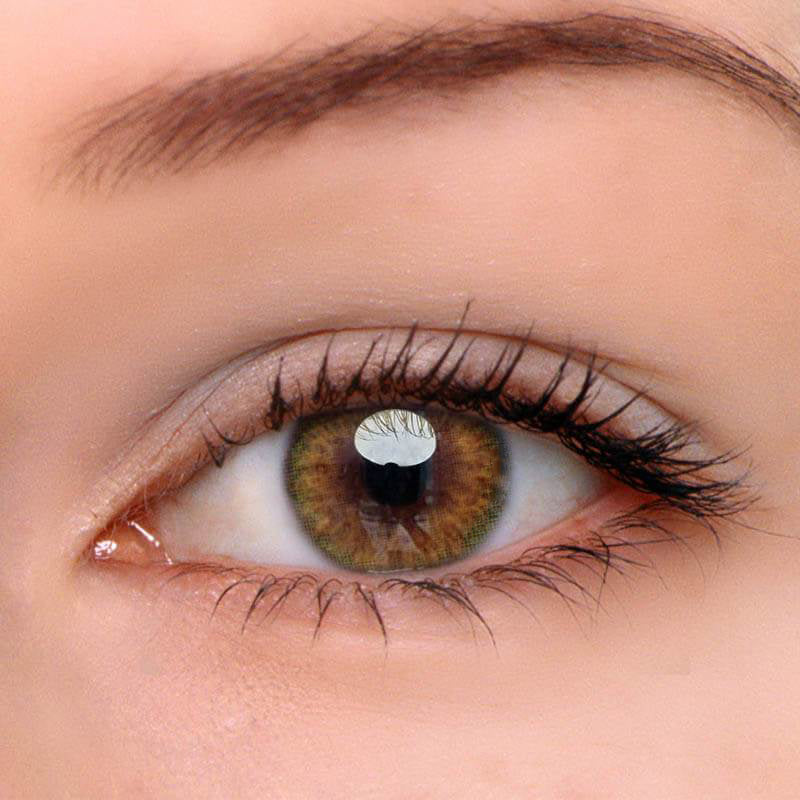 Eyeshinning Iris Brown-Green II Colored Contact Lenses