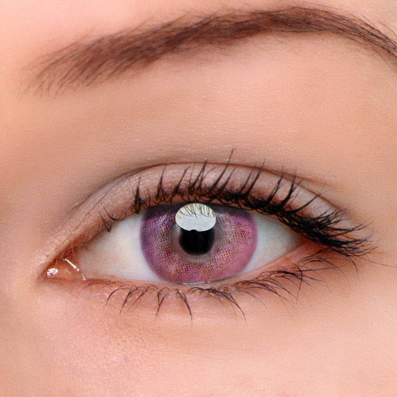 Eyeshinning Juice Pink Colored Contact Lenses