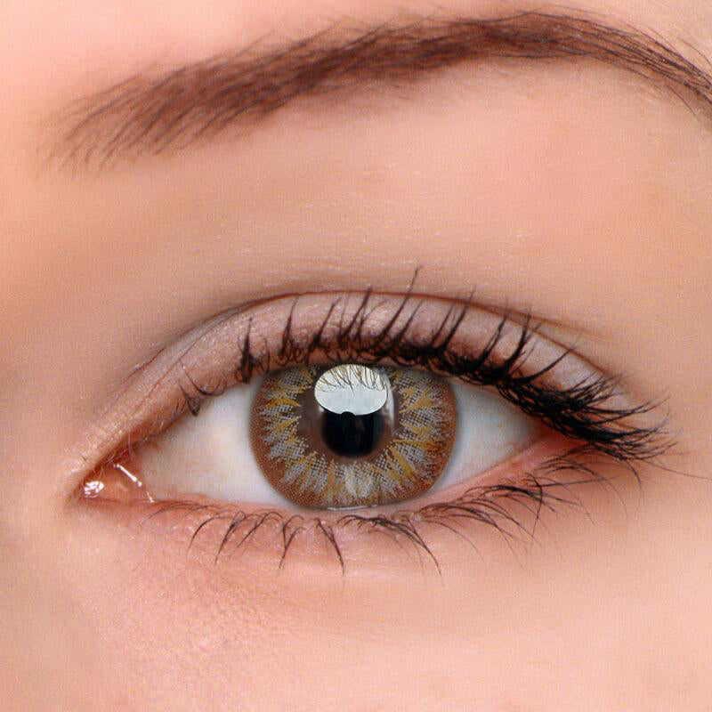 Eyeshinning Lily Grey Colored Contact Lenses