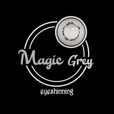Eyeshinning Magic Grey Colored Contact Lenses