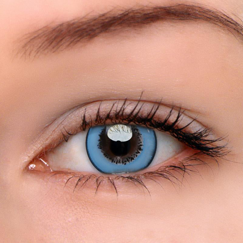 Eyeshinning Magic Blue Colored Contact Lenses