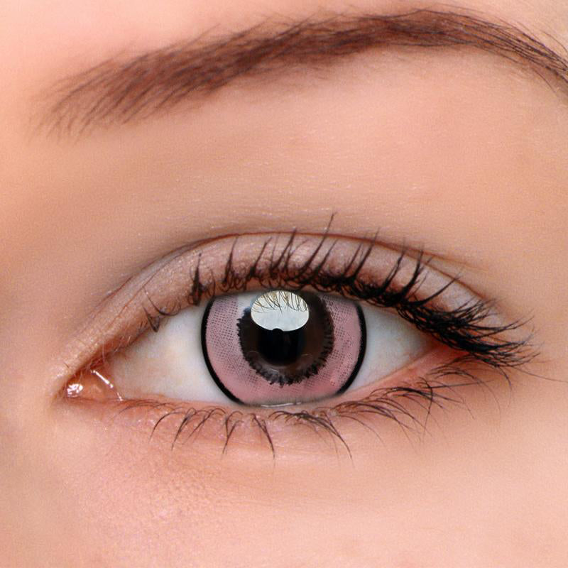 Eyeshinning Magic Pink Colored Contact Lenses