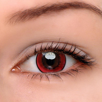 Eyeshinning Magic Red Colored Contact Lenses