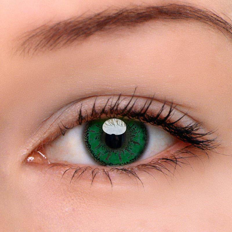 Eyeshinning Miku Green Colored Contact Lenses